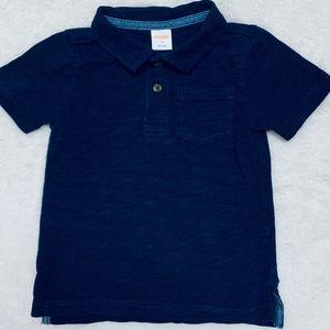 Gymboree 2T Boys Navy Blue Polo Shirt